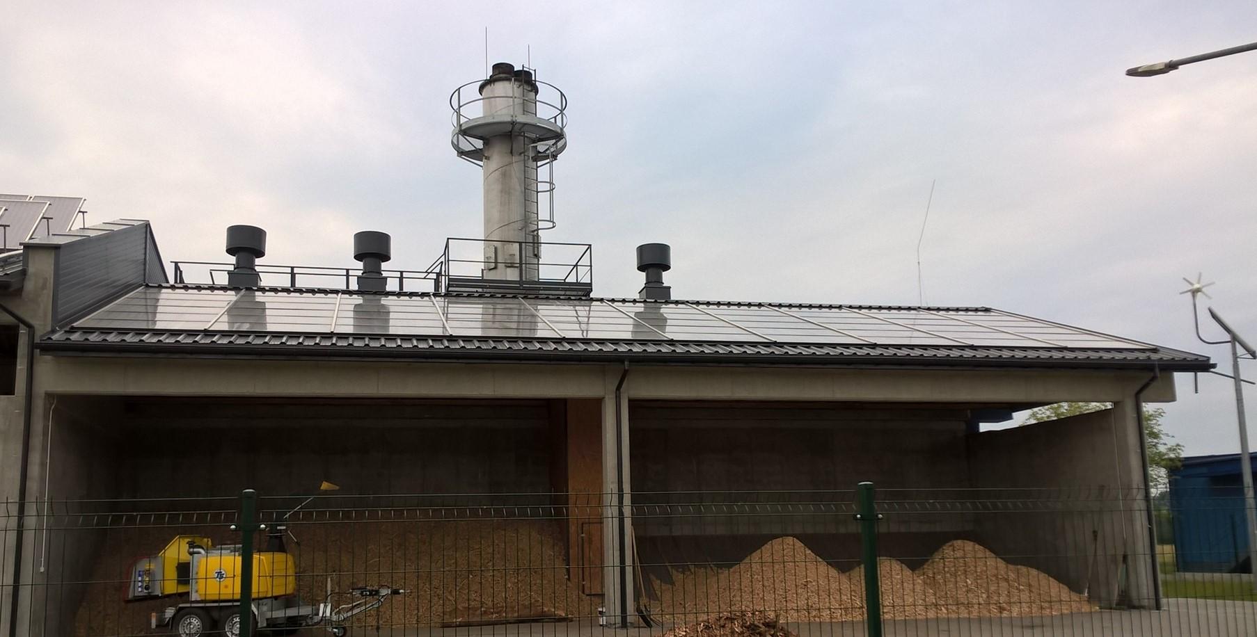 Suszarnia solarna biomasy