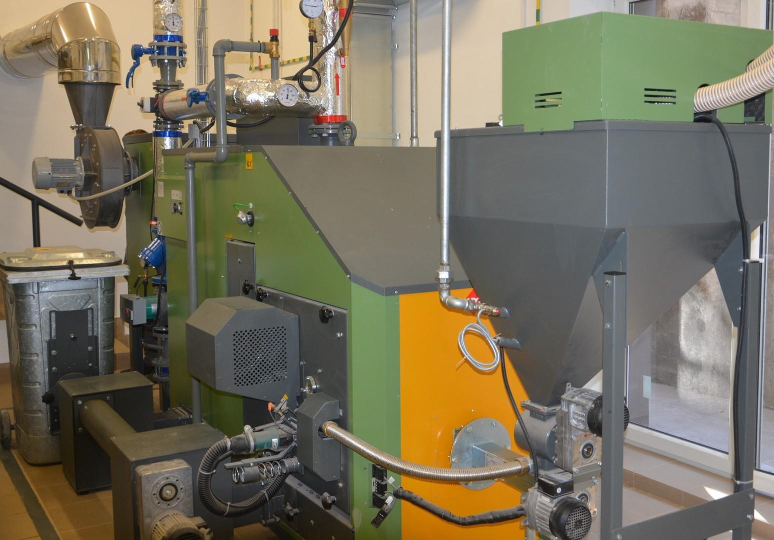 Kotłownia biomasowa