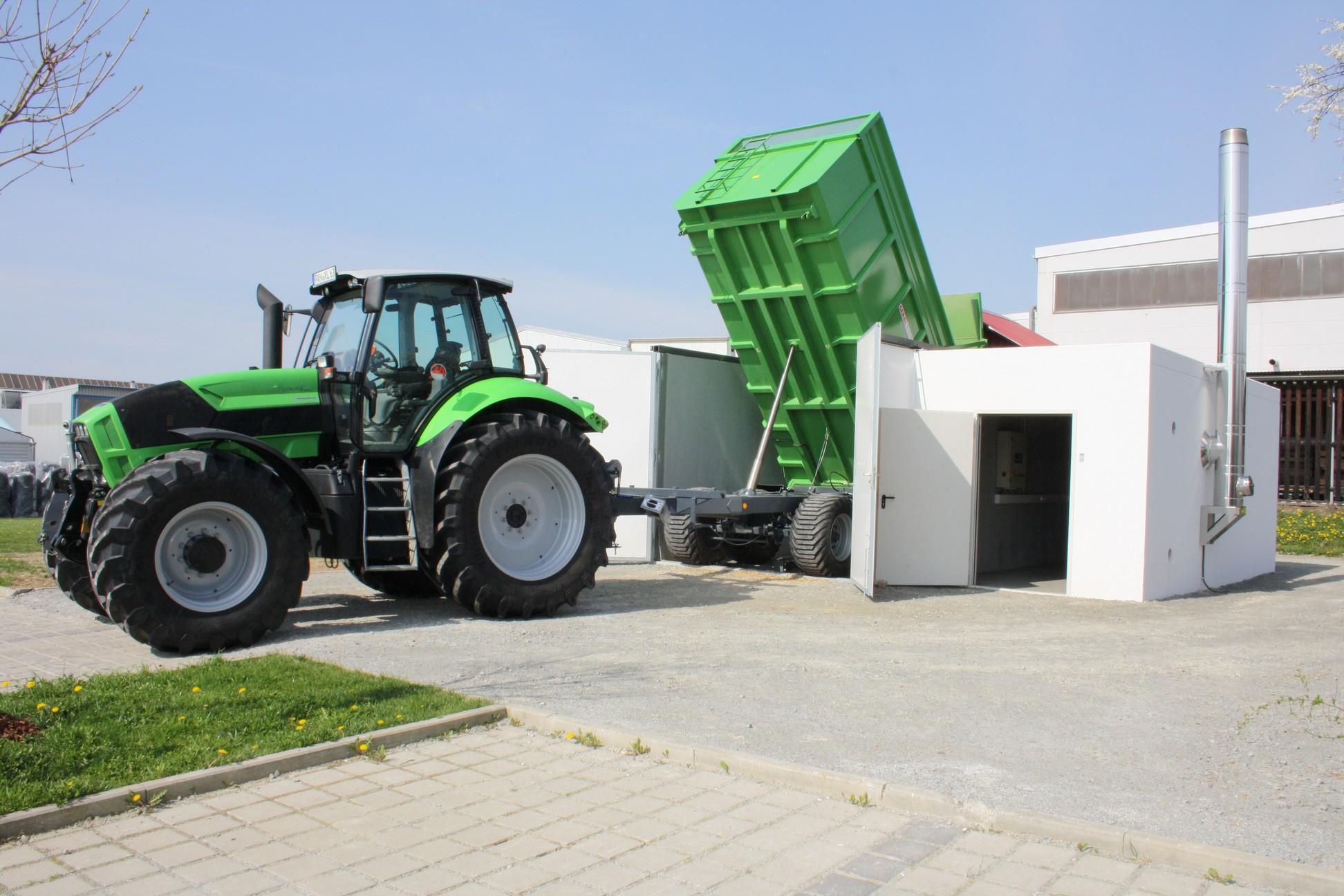 Kotłownie kontenerowe na biomasę HDG Bavaria