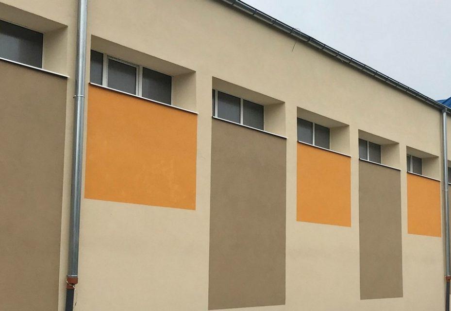 Pompy ciepła w szkole podstawowej w Dąbrównie