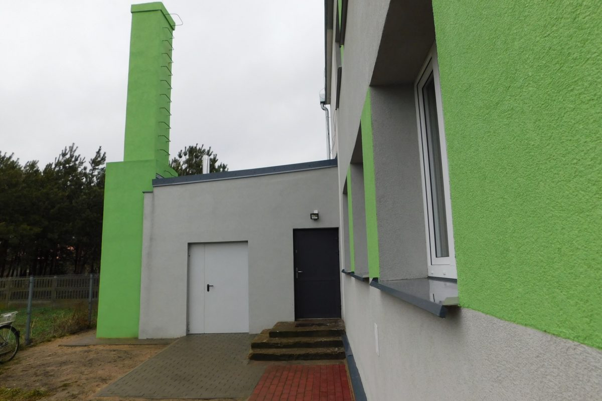 Kotłownia na pellet Easypell w przedszkolu w Wartkowicach