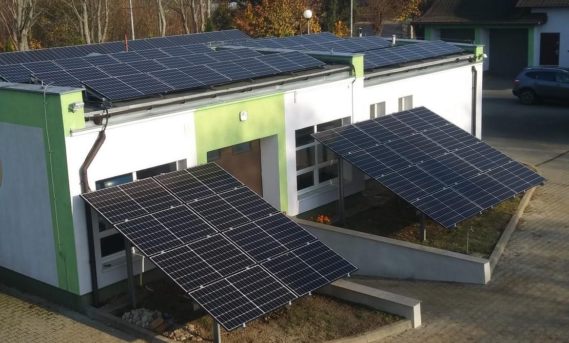 Instalacja fotowoltaiczna 20,8 kWp na hydroforni we Fromborku