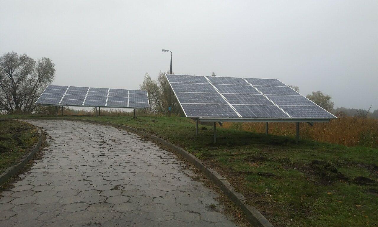 Instalacja fotowoltaiczna 39,6 kWp na oczyszczalni ścieków we Fromborku
