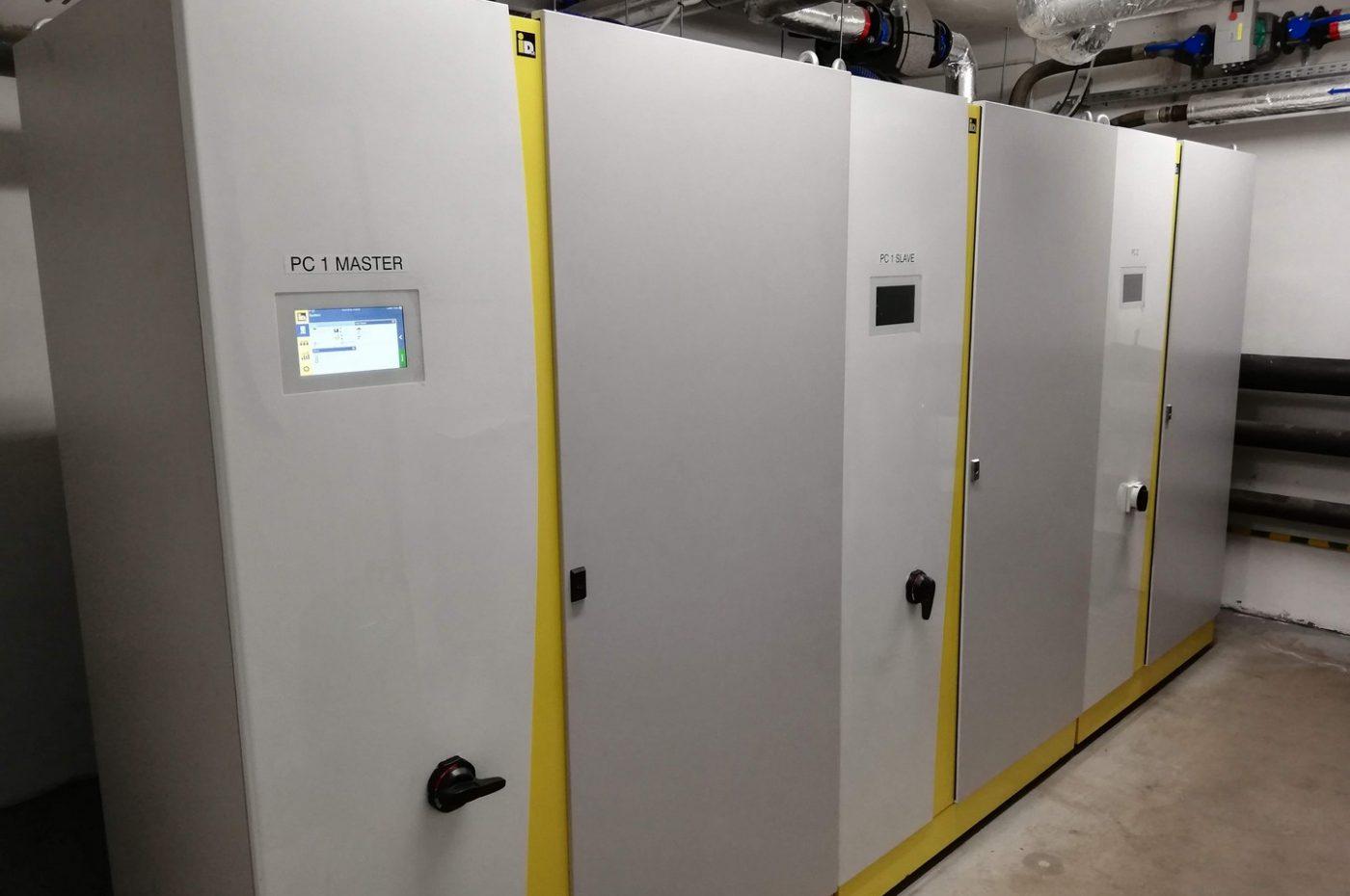 Gruntowe pompy ciepła o mocy 193 kW w szkole podstawowej w Rudzie Wielkiej