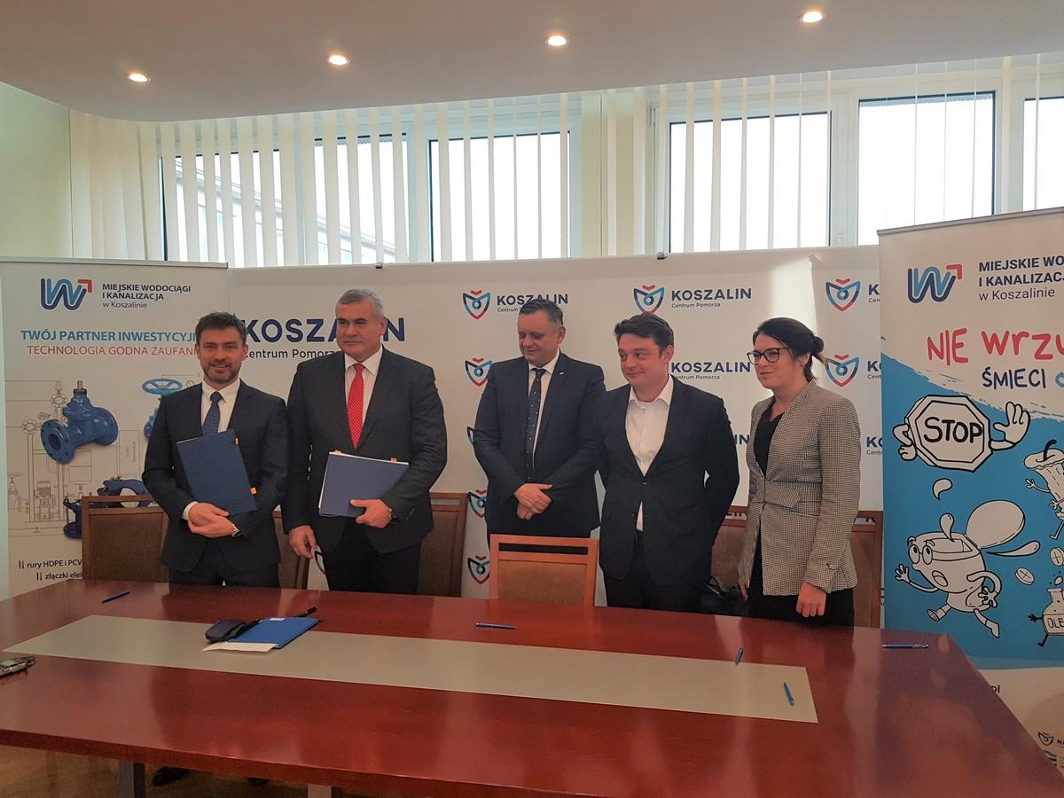 Elektrownia fotowoltaiczna 0,95 MWp w Koszalinie - podpisanie umowy