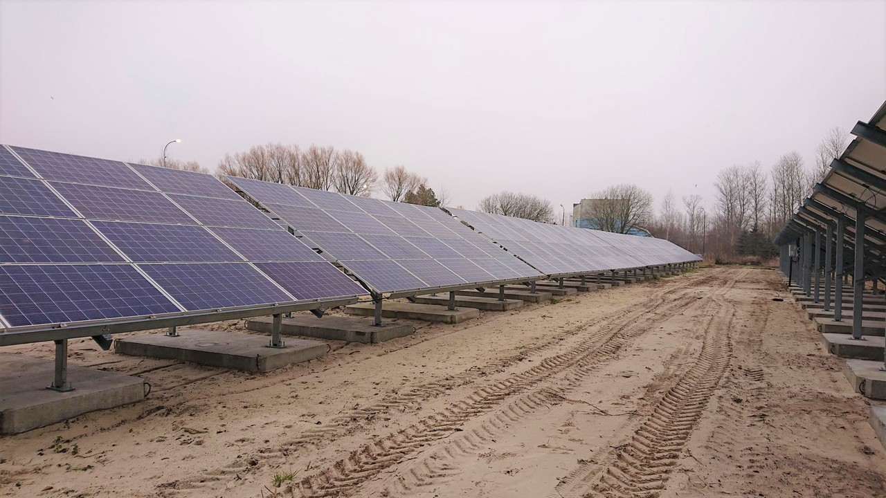 PV 350 kW na terenie MWiK Kołobrzeg