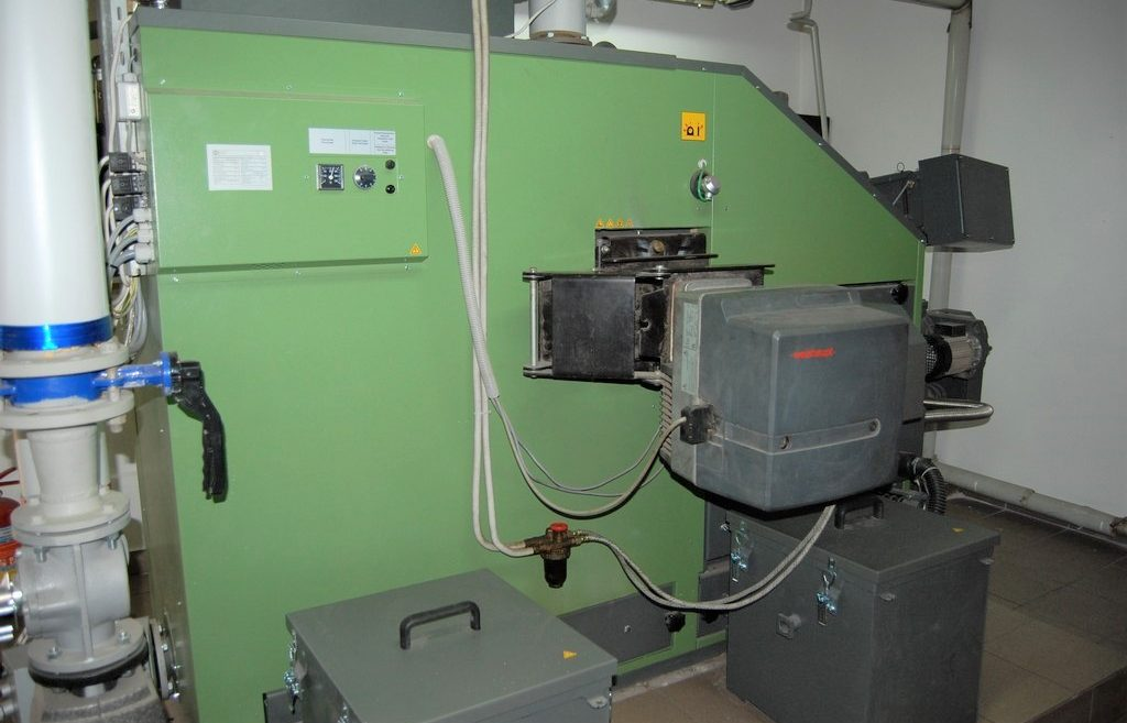 Kotłownia na pellet 200 kW HDG Compact w Biskupinie