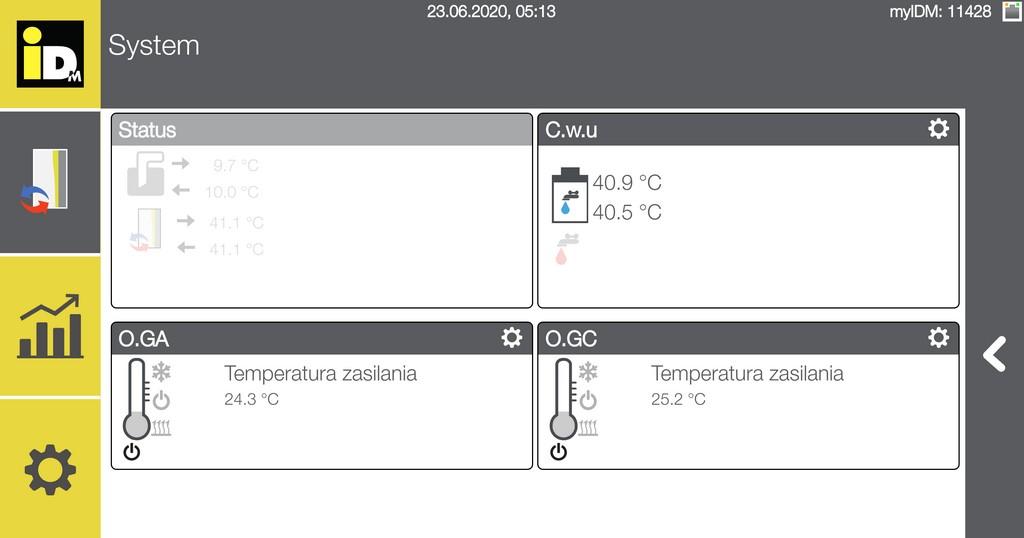 Gruntowe pompy ciepła iDM w UG Stegna